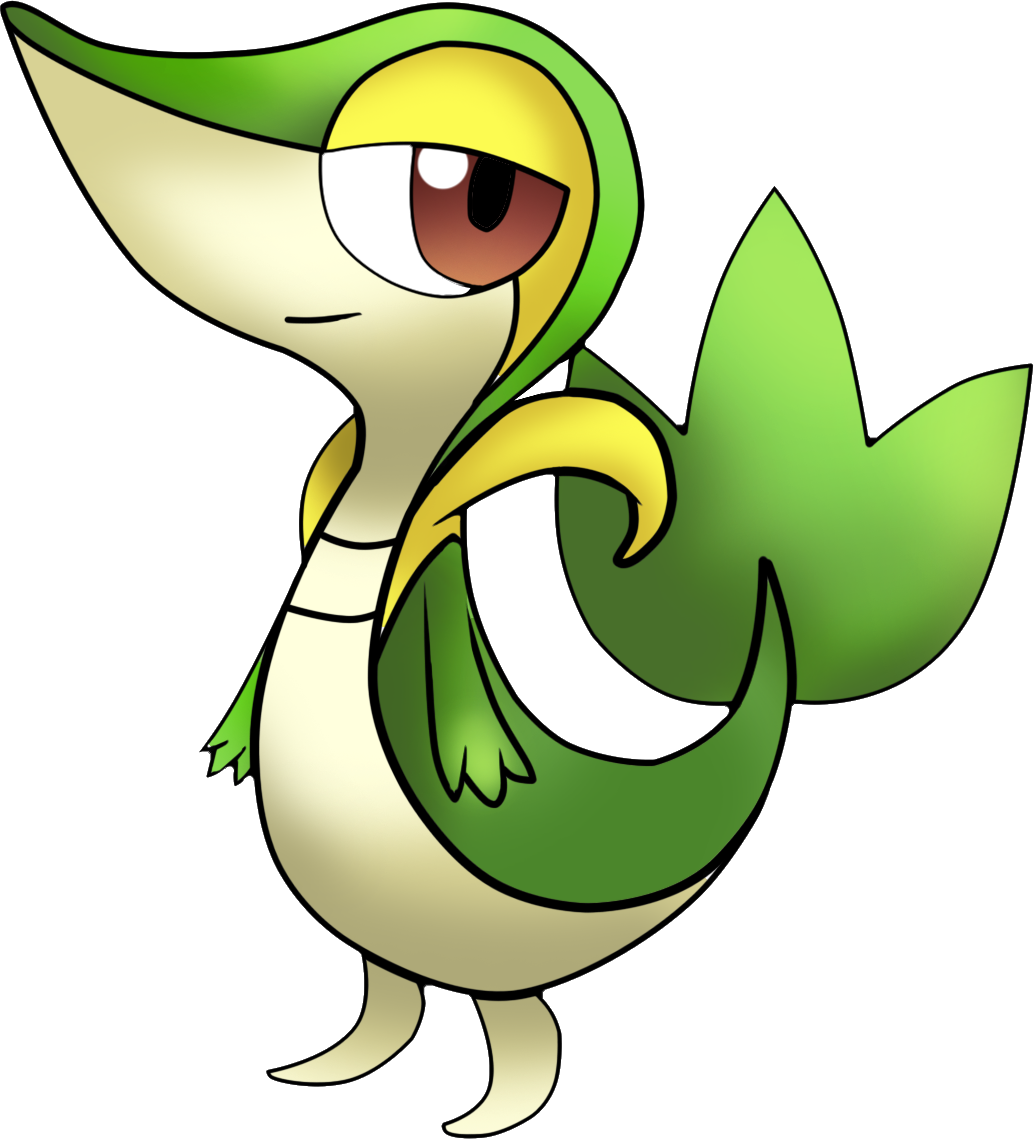 Pokemon Snivy Coloring Pages